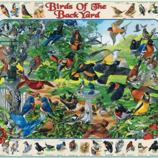Birds of the Back Yard - 1000 Piece Jigsaw Puzzle