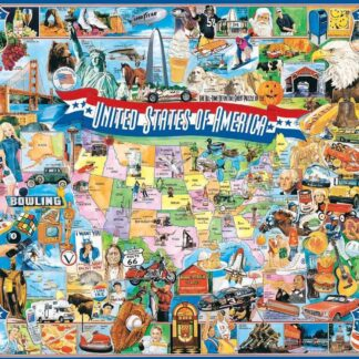 United States of America - 1000 Piece Jigsaw Puzzle