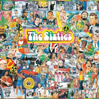 The Sixties - 1000 Piece Jigsaw Puzzle