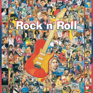 Rock 'n' Roll - 1000 Piece Jigsaw Puzzle