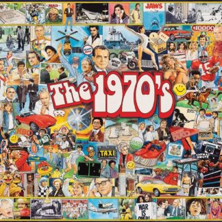 The 1970's - 1000 Piece Jigsaw Puzzle