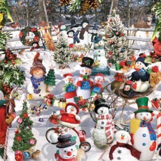 CharlesSimpson.com Snowmen - 1000 Piece Jigsaw Puzzle