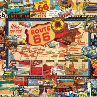 CharlesSimpson.com Route 66 - 1000 Piece Jigsaw Puzzle