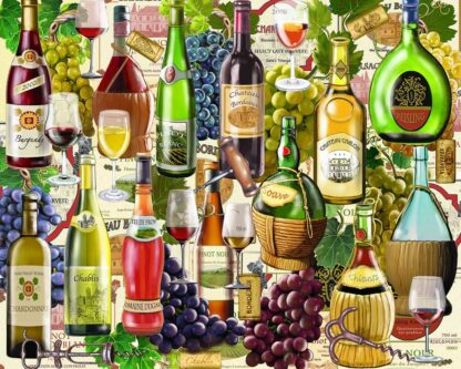 CharlesSimpson.com Wine Country - 1000 Piece Jigsaw Puzzle