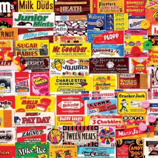 CharlesSimpson.com Candy Wrappers - 1000 Piece Jigsaw Puzzle