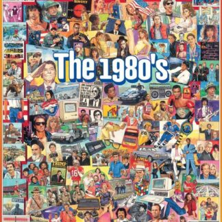 CharlesSimpson.com The Eighties - 1000 Piece Jigsaw Puzzle