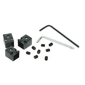 CharlesSimpson.com RJ Lockdown RJ45 Patch Cord Locks, Black, 12 Locks RJ45PLOCK-12