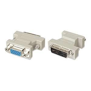 CharlesSimpson.com Ziotek DVI Male Analog to HD15 Female Adapter ZT1212285