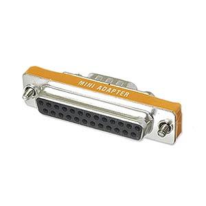 CharlesSimpson.com Ziotek Adapter Thin DB9 Male to DB25 Female ZT1310144