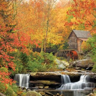 CharlesSimpson.com Old Grist Mill - 1000 Piece Jigsaw Puzzle