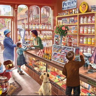 CharlesSimpson.com Old Candy Store - 1000 Piece Jigsaw Puzzle