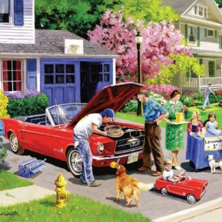 CharlesSimpson.com Ready For A Drive - 1000 Piece Jigsaw Puzzle