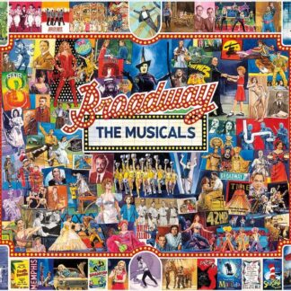CharlesSimpson.com Broadway The Musicals - 1000 Piece Jigsaw Puzzle
