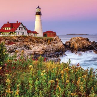 CharlesSimpson.com Maine Lighthouse - 1000 Piece Jigsaw Puzzle