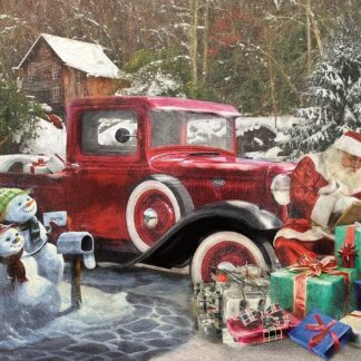 CharlesSimpson.com Santa and Truck - 1000 Piece Jigsaw Puzzle