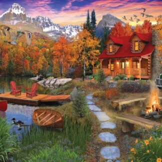 CharlesSimpson.com Cozy Cabin - 1000 Piece Jigsaw Puzzle