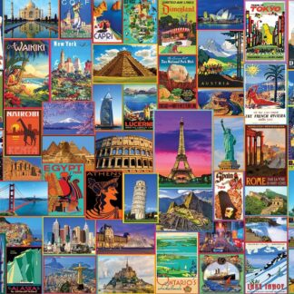 CharlesSimpson.com Best Places in the World - 1000 Piece Jigsaw Puzzle