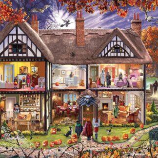 CharlesSimpson.com Halloween House - 1000 Piece Jigsaw Puzzle