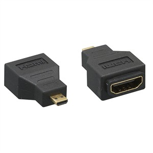 CharlesSimpson.com HDMI Female to Micro HDMI (Type D) Male Adapter