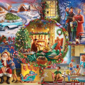 CharlesSimpson.com Christmas Traditions - 1000 Piece Jigsaw Puzzle