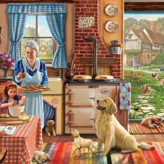 CharlesSimpson.com Cozy Kitchen - 300 Piece Jigsaw Puzzle