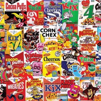 CharlesSimpson.com I Love Cereal - 300 Piece Jigsaw Puzzle