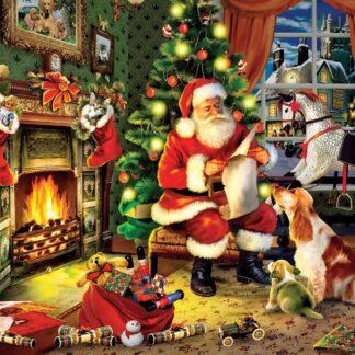 CharlesSimpson.com Santa's List - 300 Piece Jigsaw Puzzle