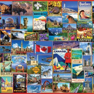 CharlesSimpson.com Best Places in Canada - 1000 Piece Jigsaw Puzzle