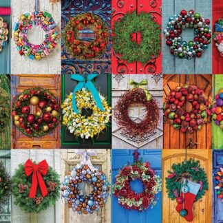 CharlesSimpson.com Holiday Wreaths - 550 Piece Jigsaw Puzzle