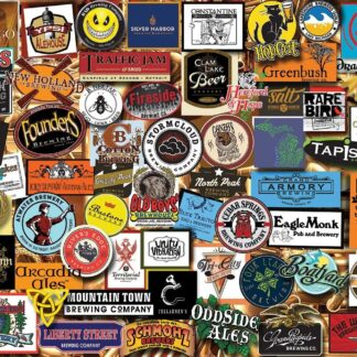 CharlesSimpson.com Michigan Beer - 1000 Piece Jigsaw Puzzle