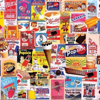 CharlesSimpson.com Ice Cream Bars - 1000 Piece Jigsaw Puzzle