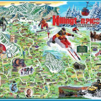 CharlesSimpson.com I Love Killington - 1000 Piece Jigsaw Puzzle