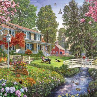 CharlesSimpson.com Sunday Afternoon - 1000 Piece Jigsaw Puzzle