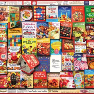 CharlesSimpson.com Betty Crocker Cookbooks - 1000 Piece Jigsaw Puzzle