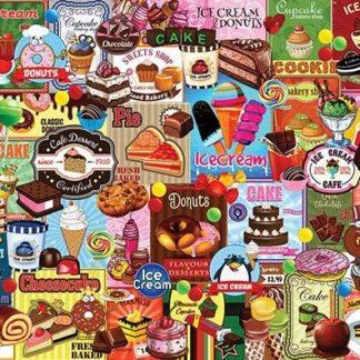 CharlesSimpson.com Sweet Treats - 1000 Piece Jigsaw Puzzle