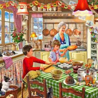 CharlesSimpson.com Christmas at Grandma's - 1000 Piece Jigsaw Puzzle