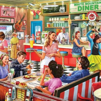 CharlesSimpson.com American Diner - 1000 Piece Jigsaw Puzzle