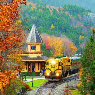 CharlesSimpson.com Scenic Railroad - 1000 Piece Jigsaw Puzzle