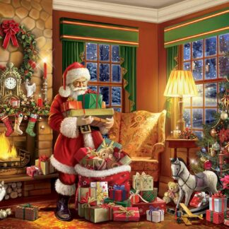 CharlesSimpson.com Delivering Gifts - 550 Piece Jigsaw Puzzle