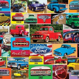 CharlesSimpson.com Classic Ford Pickups - 1000 Piece Jigsaw Puzzle