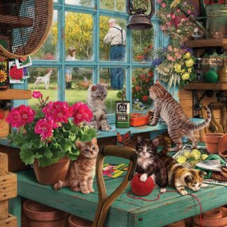 CharlesSimpson.com Curious Kittens - 1000 Piece Jigsaw Puzzle
