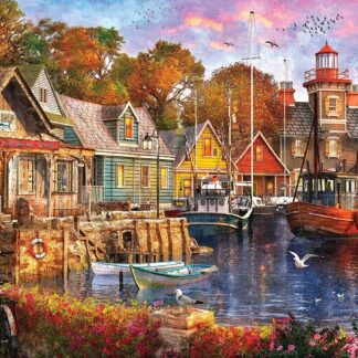 CharlesSimpson.com Harbor Evening - 1000 Piece Jigsaw Puzzle