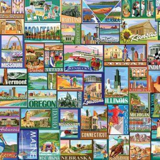 CharlesSimpson.com America - 1000 Piece Jigsaw Puzzle