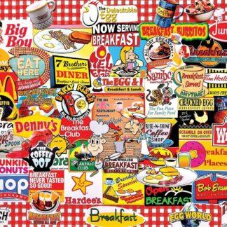 CharlesSimpson.com I Love Breakfast - 1000 Piece Jigsaw Puzzle