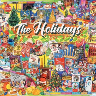 CharlesSimpson.com The Holidays - 1000 Piece Jigsaw Puzzle