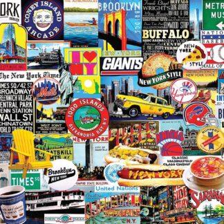 CharlesSimpson.com New York New York - 1000 Piece Jigsaw Puzzle