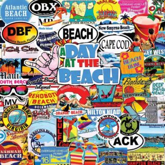 CharlesSimpson.com A Day At The Beach - 1000 Piece Jigsaw Puzzle