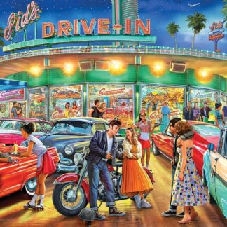 CharlesSimpson.com American Drive-In - 1000 Piece Jigsaw Puzzle