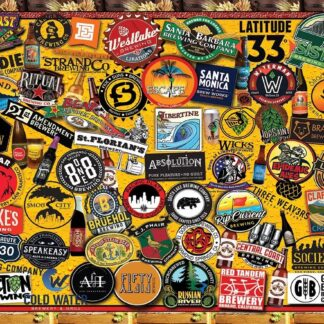 CharlesSimpson.com California Craft Beer - 1000 Piece Jigsaw Puzzle