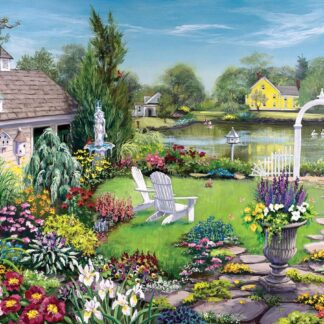 CharlesSimpson.com By The Pond - 1000 Piece Jigsaw Puzzle